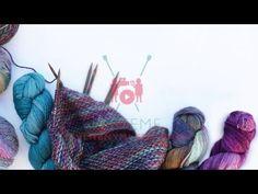 Pletařské techniky - fair isle - zaplétání dlouhých úseků přetahované příze - YouTube