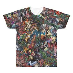 Colorful Art Shirt XLV