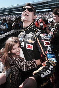 Jeff Gordon & daughter Ella Sophia