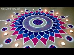 Are you looking for the Best And Simple Rangoli Design For Diwali Here we have collected the best rangoli design for you. Best Rangoli Design, Rangoli Designs Latest, Simple Rangoli Designs Images, Rangoli Designs Flower, Free Hand Rangoli Design, Small Rangoli Design, Rangoli Border Designs, Colorful Rangoli Designs, Rangoli Designs Diwali