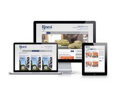 Diseño del Sitio Web de Rinesi Propiedades
