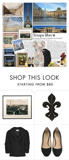 """""""7/100. France"""" by biancasorana ❤ liked on Polyvore featuring Crate and Barrel, Chanel, Hedi Slimane, WALL, Elizabeth and James and Matthew Williamson"""