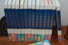 Vintage Colorful Set Children's Reference Books Childcraft by PursuingVintage1