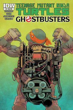 Turtles Ghostbusters
