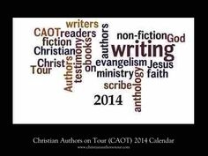 HAPPY NEW YEAR! Check-out this 2014 Photo Wall Calendar from Christian Authors on Tour (CAOT)!  Each month includes an inspirational blurp about a Christian fiction or non-fiction author.  Visit http://christianaotmarketplace.blogspot.com/ for more details!