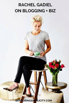 Rachel Gadiel on blogging + business