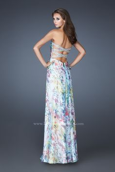0d7d7fc4dd We know you love La Femme dresses as much as we do. Find the dress of your  dreams today at Peaches Boutique.