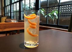 INFUSED VODKA: this cocktail features quince-infused vodka plus yuzu juice, truffle maple syrup, Suze Orange bitters and tonic. Japanese Cocktails, Jamaican Jerk Seasoning, Infused Vodka, Maple Syrup, Bartender, Truffles, Juice, Canning, Orange