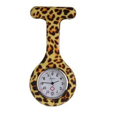 b076780f8c1 Pocket Watch Nurse Watch Fob Hanging Medical style, Silicone Stainless  Round Dial Quartz Fob Woman