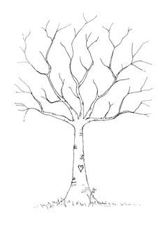 Soooo thankful it was free and so cute! I used it for a family tree and just layered what I wanted over it in Publisher. Family Tree For Kids, Trees For Kids, Wedding Fingerprint Tree, Fingerprint Art, Wedding Tree Guest Book, Guest Book Tree, Tree Templates, Leaf Template, Winter Tree Drawing