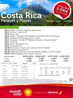 Costa Rica Parques y Playas ultimo minuto - http://zocotours.com/costa-rica-parques-y-playas-ultimo-minuto/