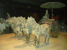 Xian    Terracotta Chariot    Photo by Kerwin Siy