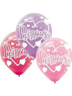 Princess Latex Balloons, 12?? | 6 ct