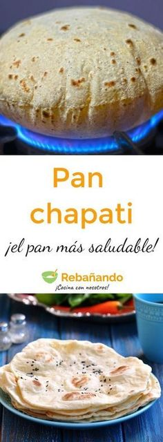 Pin on Beauty Pin on Beauty Chapati, Pan Indio, Low Carb Recipes, Cooking Recipes, Fingerfood Party, Pan Dulce, Pan Bread, Tan Solo, Cooking Time