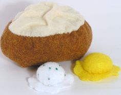 Inspiration photo.   LOVE the melting butter and sour cream with chives.