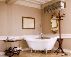 A beautiful bathroom calls for a gorgeous décor, but what really makes a bathroom stand out is a grand bath tub!