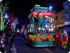 Neighborhood Street Party Christmas Parade