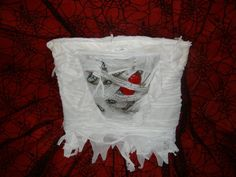 Light up Mummy chest purse by BooscaryBootique on Etsy, $50.00