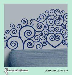 Cabeceira Casal 010 http://mejoganaparede.com.br/index.php/cabeceiras-cama-box