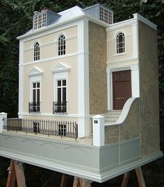 dolls' house perfect color combination and brick work on this clean modern masterpiece.