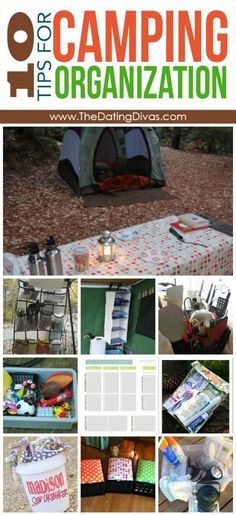 Not only is this camping organization- it's like every link you would ever want or need for camping! Camping apps, what to bring, the best gear and gadgets, camping activities, camping with kids, the best camping recipes, tips and tricks... Like really if you want any camping advice here is the link!