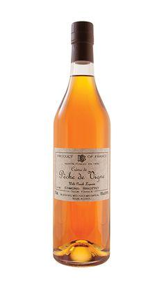 BRIOTTET CREME DE PECHE DE VIGNE  Like a fresh, juicy peach in a bottle.