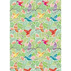 Hummingbirds Wrapping Paper