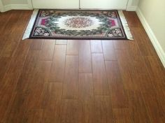 Homes With Wood Look Porcelain Tile Plank Installations Tampa Florida