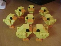 LEGO Easter chicks!