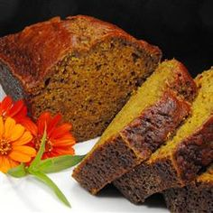 "Pumpkin Gingerbread | ""Delicious would be the word to describe this bread. I thought I had the best pumpkin bread recipe ever, until I made this one!"""