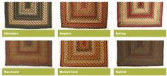 Jute Rugs in Many Shapes and Sizes! TO ORDER: greenlifestylebiz@gmail.com - Greenlifestylebiz on Facebook/Suzi M Green Interior Decorator Mpls MN on Pinterest