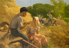 View Ligawan By Fernando Amorsolo; oil on canvas; Access more artwork lots and estimated & realized auction prices on MutualArt. Arte Filipino, Filipino Culture, Famous Art Paintings, Koi Painting, Southeast Asian Arts, Philippine Art, Thai Art, Historical Art, Japan Art