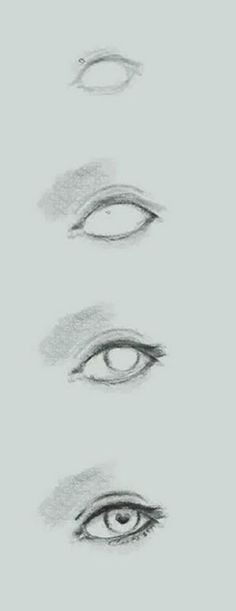 how to draw eye basic