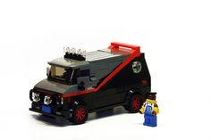 "A Team Van by ""Orion Pax"", via Flickr"