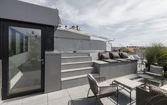 Penthouse S designed by austrian interior design office the black square Vienna For more join us on instagram: theblacksquarevienna Outdoor Furniture Sets, Outdoor Decor, Black Square, Office Interior Design, Vienna, Interior Architecture, Join, Patio, Instagram