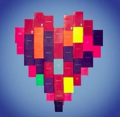 Valentine's with Smythson made from Panama notebooks and diaries.   www.smythson.com