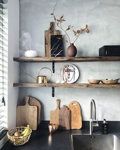 Hippie Home Decor .Hippie Home Decor Solid Wood Kitchen Cabinets, Shaker Kitchen Cabinets, Home Decor Quotes, Diy Home Decor, Kitchen Interior, Kitchen Decor, White Shaker Kitchen, Living Room Decor On A Budget, Küchen Design