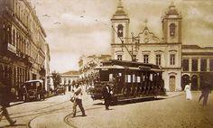 Largo da Sé - São Paulo 1904 - Brasil