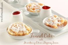 Funnel Cakes on OvertimeCook