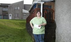 Kay Harris, who lives in south Wales, says she cannot afford £11 a week extra rent for her 'unoccupied' bedroom, but no smaller properties a...