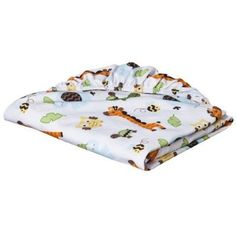 Circo Fitted Crib Sheet - Jungle Stack