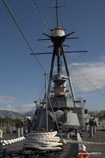 Battleship Averof, Naval Museum at Flisvos Marina. Naval History, Athens Greece, Battleship, Seaside, Places Ive Been, Greek, Walking, Museum, Navy