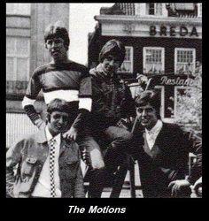 The Motions: 12-1964 tot 03-1967 met Robbie van Leeuwen, Henk Smitskamp, Rudy Bennet en Sieb Warner.