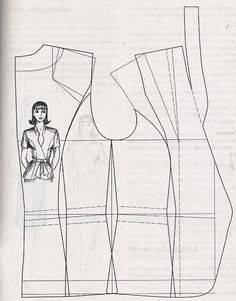 pattern making - blouse