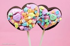 Candy proposal love cute pink candy hearts sweets adorable marry