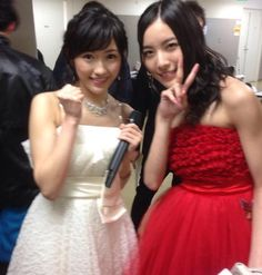 Matsui Jurina (松井珠理奈) & Watanabe Mayu (渡辺麻友)
