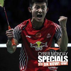 CYBER MONDAY SPECIALS! Now is the time to get the Li-Ning badminton products you've always wanted or buy the badminton enthusiast in your life or family a Christmas gift they will truly LOVE! Li-Ning Badminton offers the largest selection of badminton products anywhere! Visit your local dealer or shop online with FREE SHIPPING on orders of $150 or more! www.shopbadmintononline.com #MakeTheChange! Questions...need help? Call 855-6LI-NING (855-654-6464)