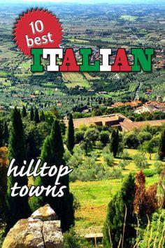 Pinterest Italy Hilltop Towns
