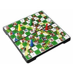 Magnetic Travel Snakes and Ladders