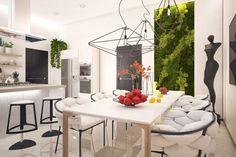 Au cours des dernières années, beaucoup de gens tournent vers le mode de vie «vert». Un mur végétal intérieur, à part d'être joli, possède des avantages ...